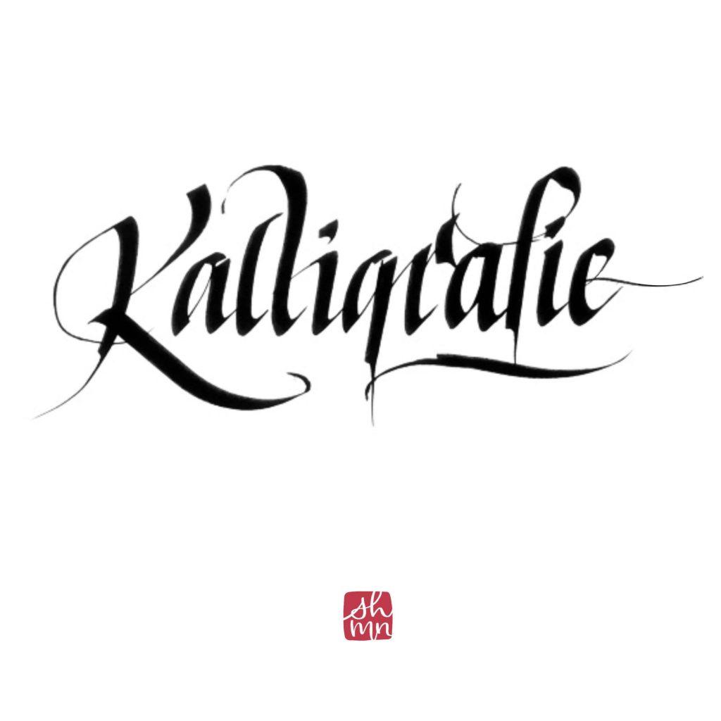 Klassische Klalligrafie