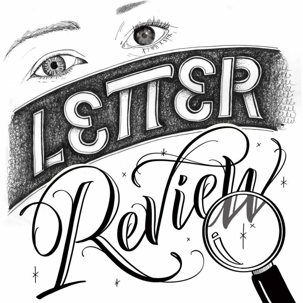 "Webinar ""Letter Review"" Grafik"